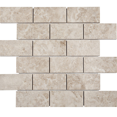 5x10 Cappucino Mosaic Polished