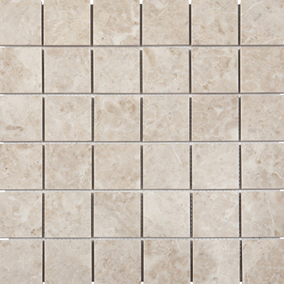 5x5 Cappucino Mosaic Polished