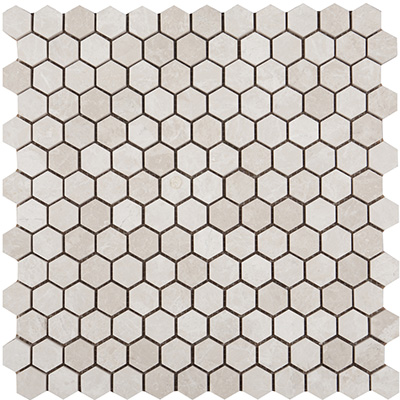 2.3Q Ice Beige Hexagon Mat