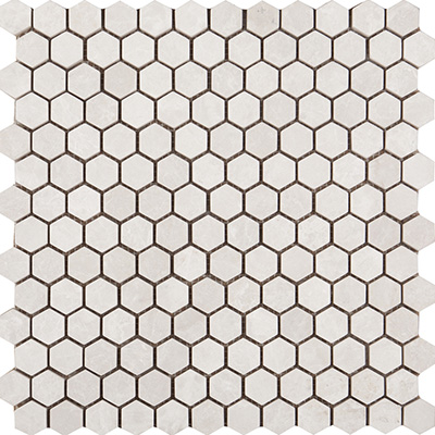 2.3Q Ice Beige Hexagon Tumbled