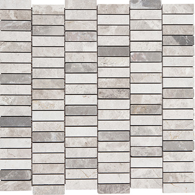 1.5x4.8 Grey Blend Shift Mosaic Mix Surface