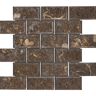 5x10 Ociano Mosaic Bevel Edge Polished