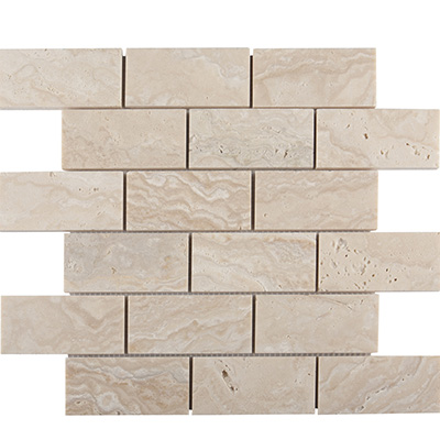 5x10 Troy Brick Mosaic Honed Unfilled