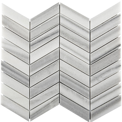 2.3x10 Skyfall Chevron Mosaic Polished