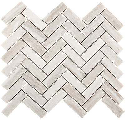2.3x10 Golden Valley Herringbone Mosaic Polished