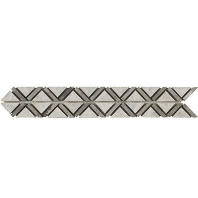 3.5x30.5 Aristocrasy Border Silver Polished