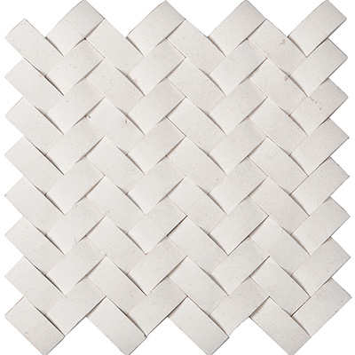 2.5x5 Limestone Herringbone Honed