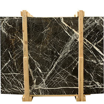 Ponto Nero Blanc Slab Polished