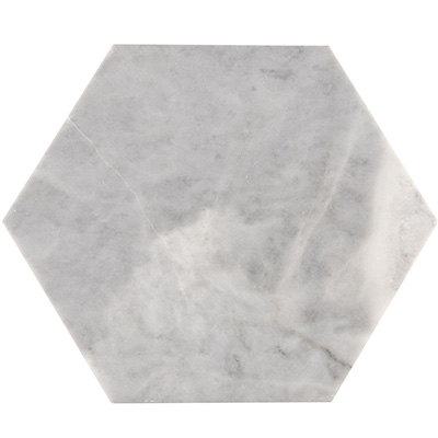 30,5Q Smoke Grey Hexagon Tile Polished